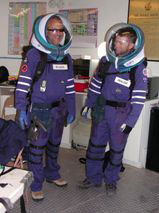 Comparing Gas Suits & Elastic Suits at Mars Desert Research Desert Station